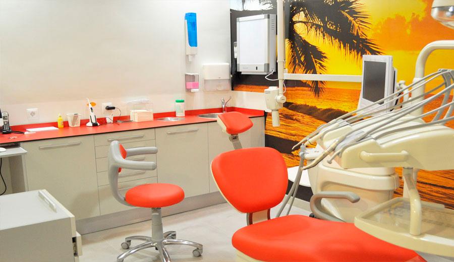 El gabinete 5 de la clínica dental