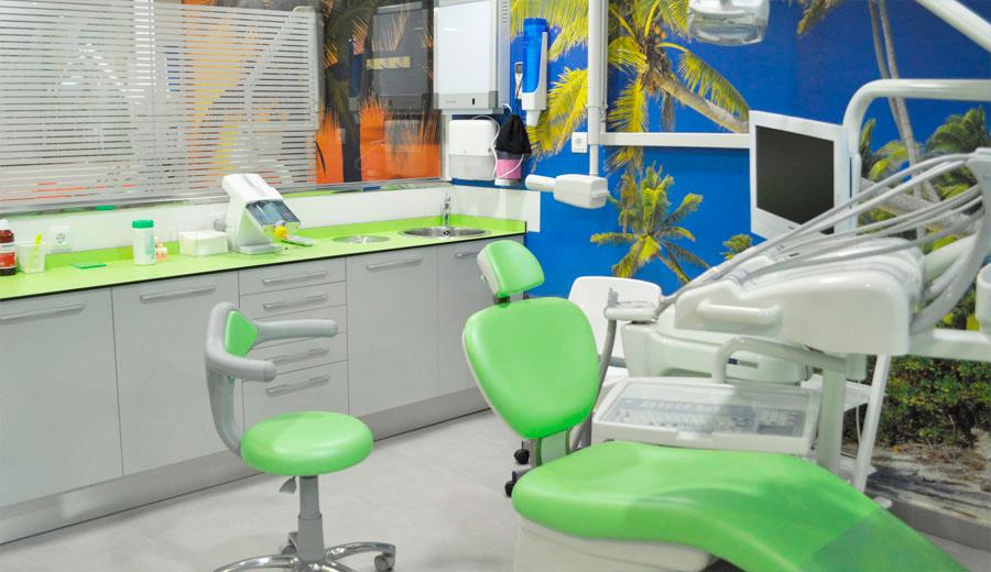 El gabinete 7 de la clínica dental